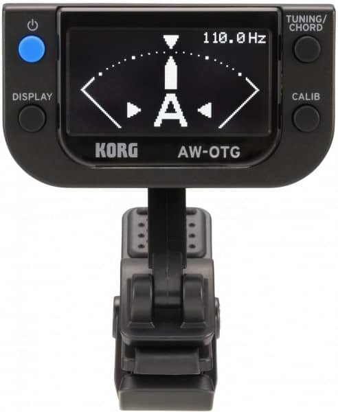 AW-OTG OLED Clip-On Tuner Guitar