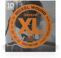 EXL140-10P - XL Electric Nickel Wound 10-52, 10er Pack