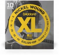 EXL125-10P - XL Electric Nickel Wound 09-42, 10er Pack