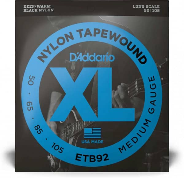 ETB92 -XL Bass Tapewound, Medium Scale 50-105