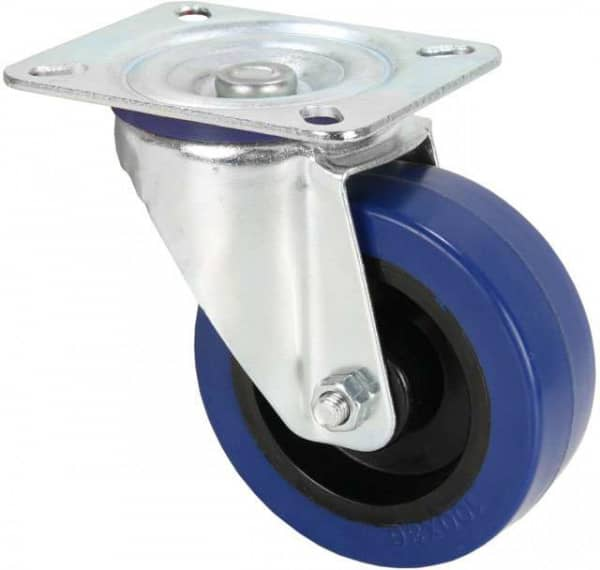 372151 Lenkrolle 100 mm Blue Wheel