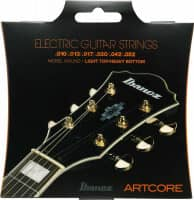 IEGS62 E-Guitar String Set ARTCORE Nickel Light Top Heavy Bottom 010-052