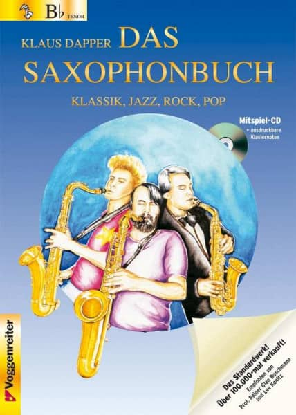 Klaus Dapper - Das Saxophonbuch - Version Bb