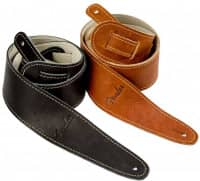 Bild von FENDER Logo-Ball Glove Leather Strap BLK