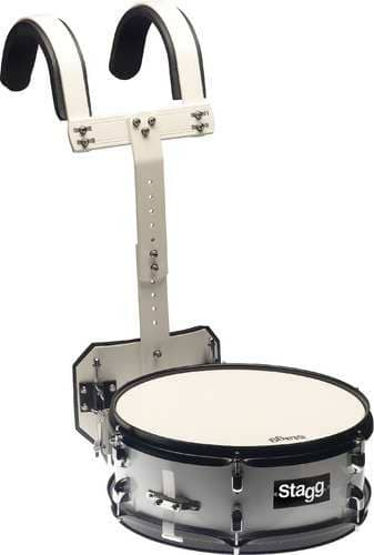 stagg masd 1455 marching snare mit halterung 14 x 5 5 zoll. Black Bedroom Furniture Sets. Home Design Ideas