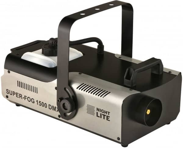 Nightlite Super-Fog 1500 DMX Nebelmaschine -SESSION SET-