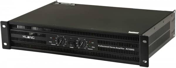 Power Amplifier A2500G 2x750 W