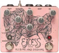 Excess Distortion Chorus-Delay Pedal
