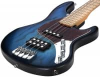 California TM 4-MN Blueburst Matt Finish Carved Special