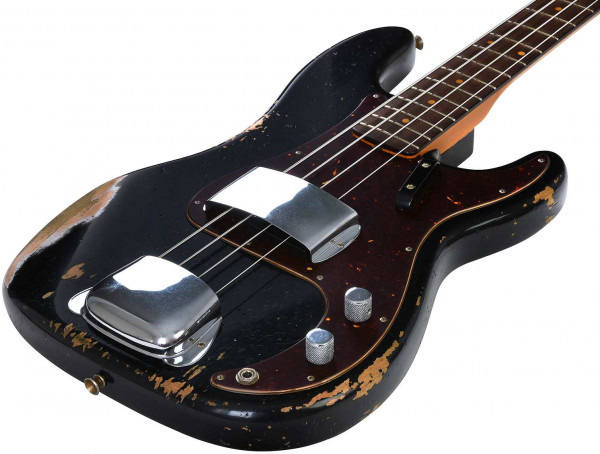 Custom Shop 1960 Precision Bass HVYREL ABLK