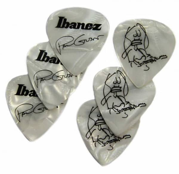 B1000PG-PW Paul Gilbert Pick Set Pearl