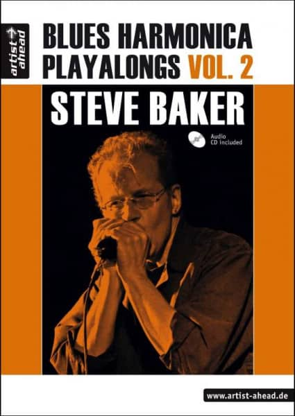 Steve Baker - Blues Harmonica Playalongs Vol. 2