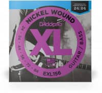 EXL156 - XL Electric/Bass Fender VI Nickel Wound 24-84