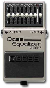 GEB-7 Bass Equalizer Pedal