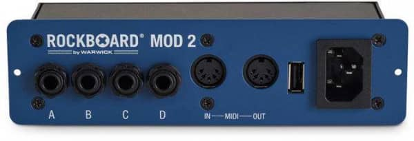 MOD 2 All in One Patchbay TRS, MIDI, USB, Barrel