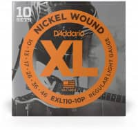 EXL110-10P - XL Electric Nickel Wound 10-46, 10er Pack