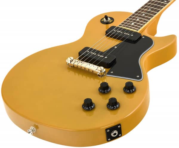 Inspired by Gibson Les Paul Special TV Yellow