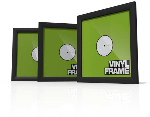 Vinyl Frame Set Black