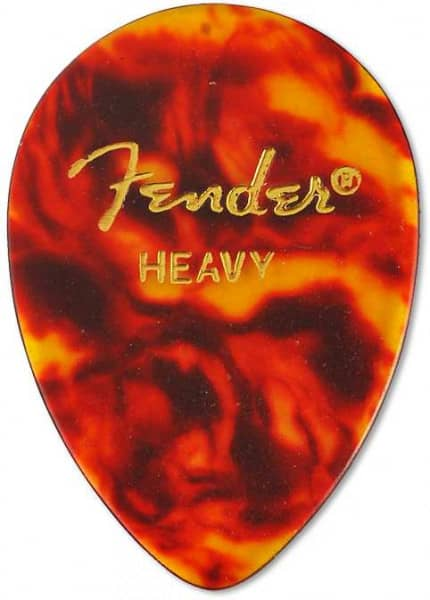 358 Shape Classic Celluloid Pick - Heavy