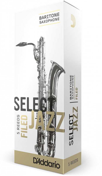 Select Jazz Filed - Bariton Saxophone 4S - 5er Pack