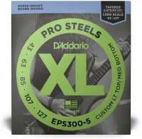 EPS300-5 - XL 5-String Bass Pro Steels, Long Scale 43-127
