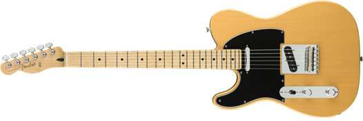 Player Telecaster LH MN BTB