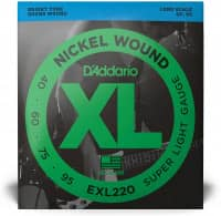 EXL220 - XL Bass Nickel Wound, Long Scale 40-95