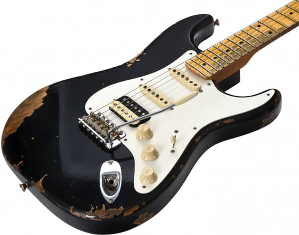 Custom Shop 1956 Stratocaster Heavy Relic HSS MN BLK