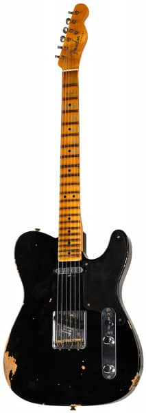 Limited Custom Shop Double Esquire RST PIN BLK